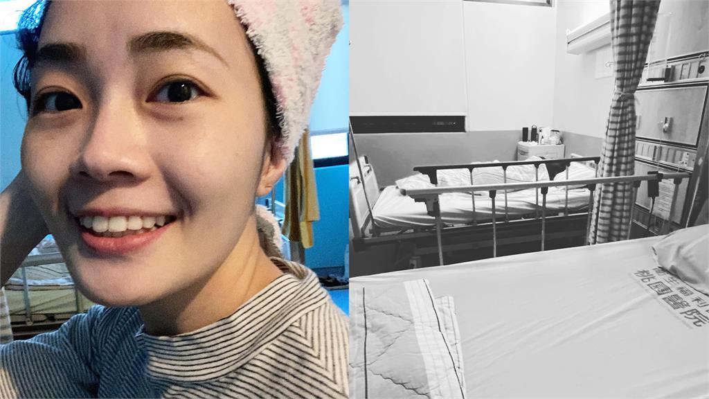 葉佳燕在臉書寫下「入住桃醫」日記,強調自己是為了保護家人。圖:翻攝自Joanne Yeh臉書