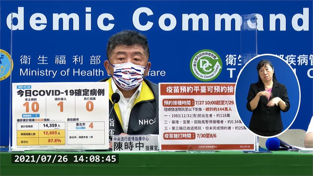 台灣何時推「疫苗護照」? 陳時中:要兼顧不想打疫...