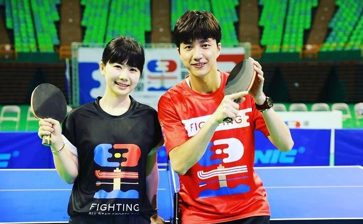台日桌球CP江宏傑和福原愛,今天宣布離婚了。圖/翻攝自江宏傑IG